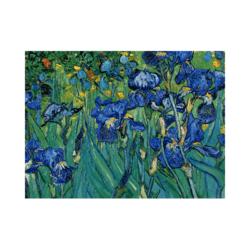 Van Gogh Süsenler Tuval