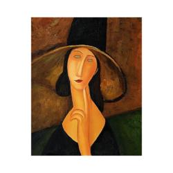 Amedeo Modigliani O Bir Tanrı Çizilmiş boyamaya hazır Tuval