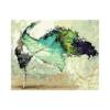 Balerin Çizilmiş Boyamaya Hazır Tuval