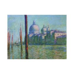 Claude Monet büyük kanal boyamaya hazır tuval