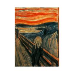 Edvard Munch Çığlık boyamaya hazır Tuval