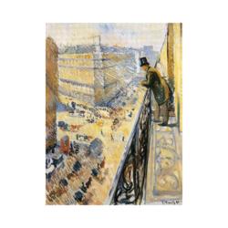 Edvard Munch Lafaette Caddesi boyamaya hazır tuval
