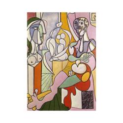 Picasso Heykeltraş boyamaya hazır tuval