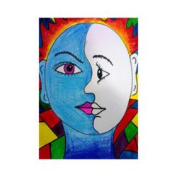 Picasso Oliver boyamaya hazır tuval