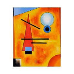 Wassily Kandinsky Cool Boyamaya Hazır Tuval
