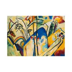 Wassily Kandinsky Gayri Resmi Dönüş Çizilmiş Boyamaya Hazır Tuval
