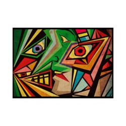 Picasso Şarap Geces Boyamaya Hazır Tuval