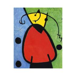 Joan Miró Gün Doğuşu Çizilmiş Boyamaya Hazır Tuval