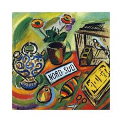 Joan Miró Kuzey Güney Boyamaya Hazır Tuval