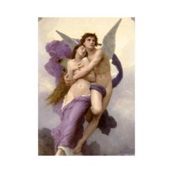 William Adolphe Bouguereau Psyche'nin Kendinden Geçişi Çizilmiş Boyamaya Hazır Tuval