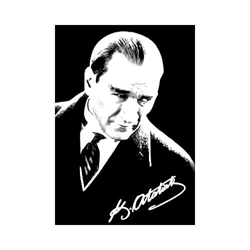 Atatürk Sb Ve Atatürk çizilmiş Boyamaya Hazır Resim Tuvali Alın