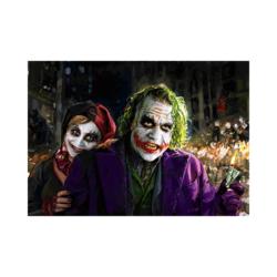 Joker ve Harley Quinn resim tuvali